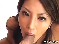 Ravishing Japanese Sweety Saya Sucking Uncensored